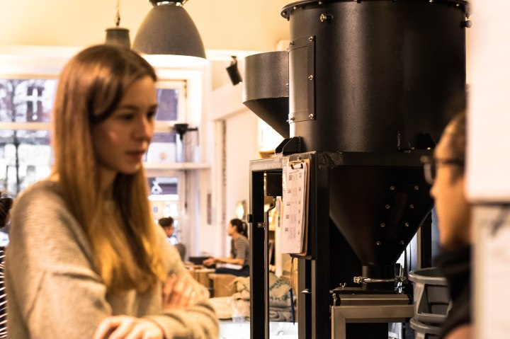 Coffee roastery in Berlin