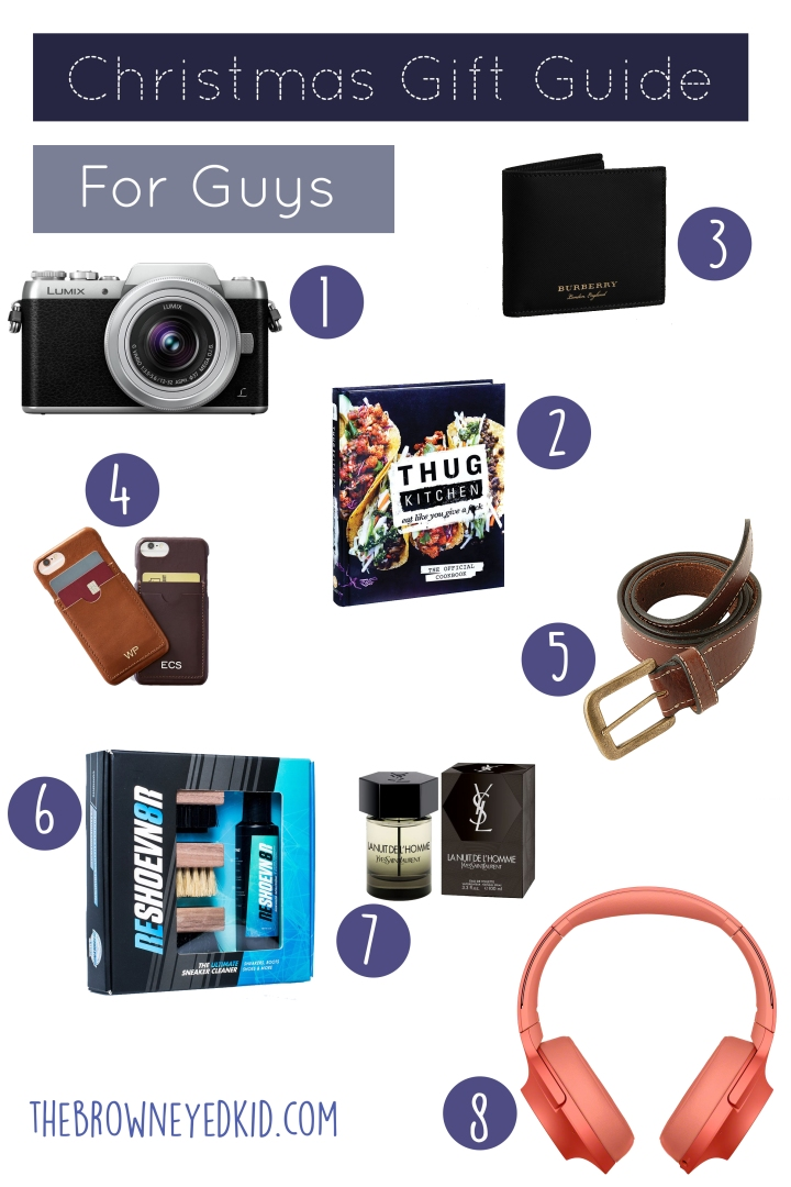 Christmas gift guide for guys