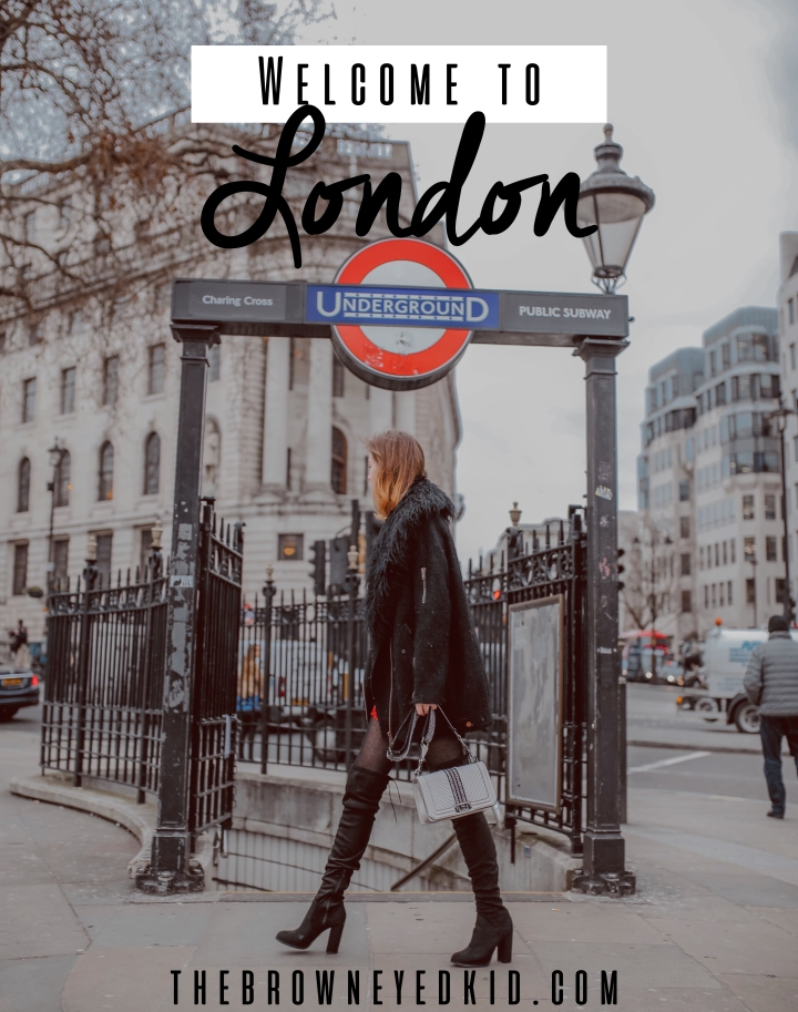 London underground and outfit