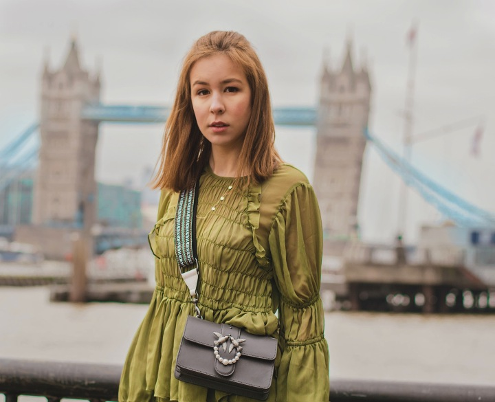 outfit and tower bridge