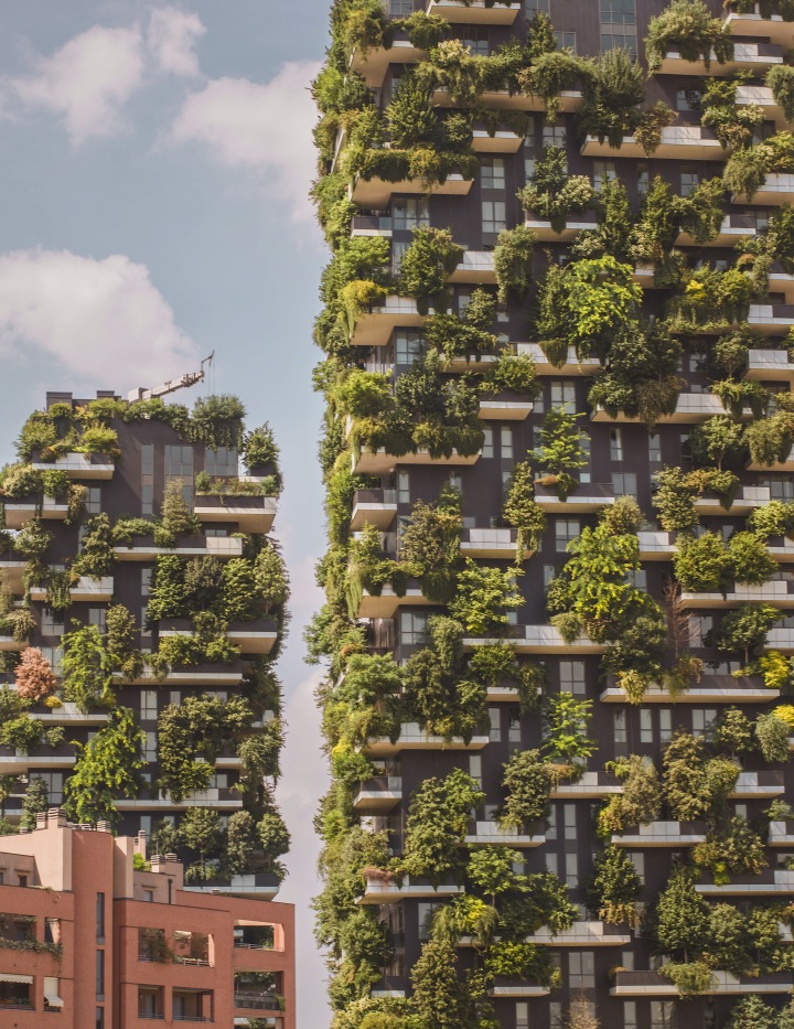 Vertical Garden in Milan