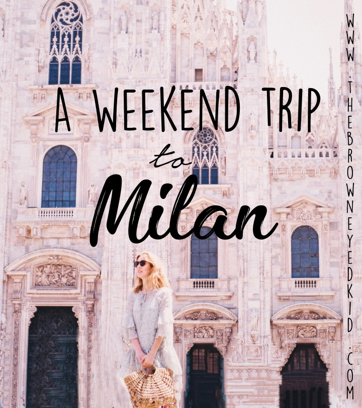 Weekend trip Milan