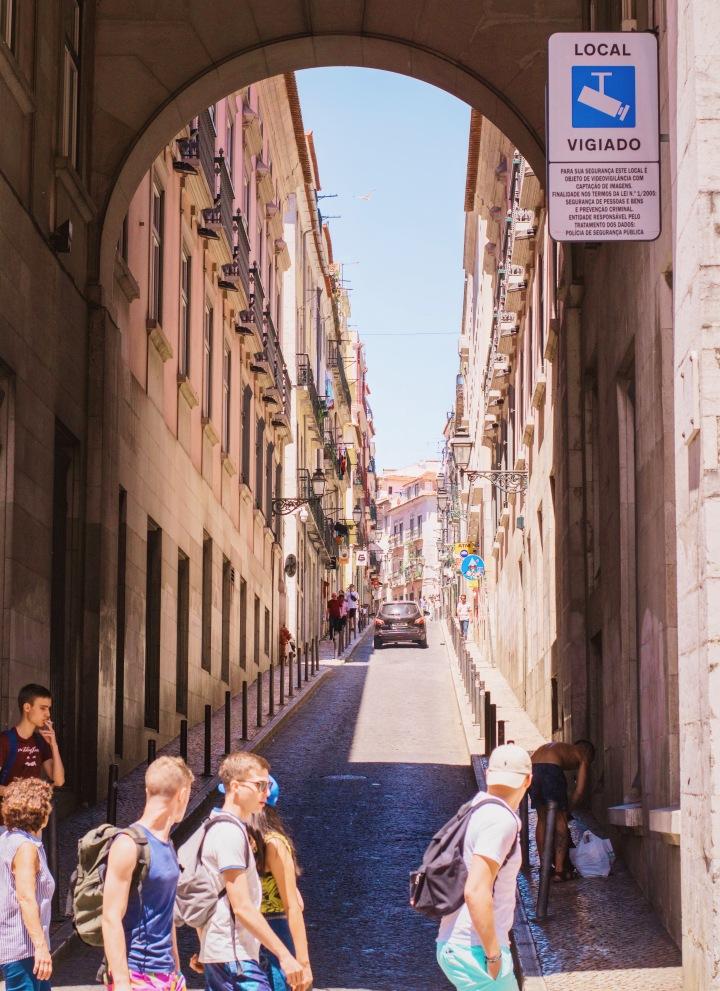 Street of Lisbon / Portugal