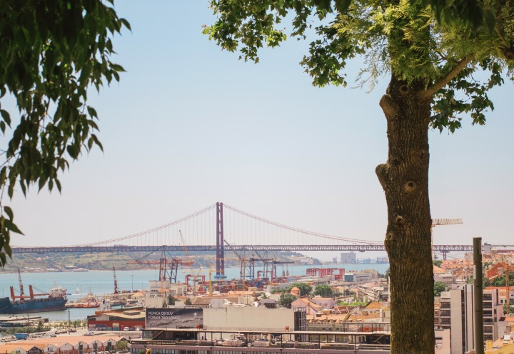 View over Lisbon / Portugal