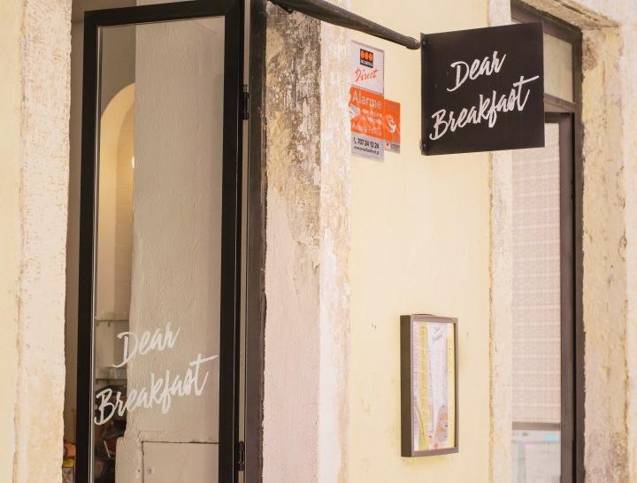 Dear Breakfast cafe in Lisbon / Portugal