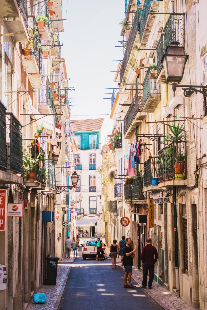Streets of Lisbon / Portugal